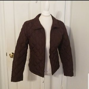 Kenneth Cole Womens Quilted Jacket